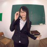 【VR/なつめ愛莉】学校の教室内で生徒や先生にドスケベ誘惑するロリ美少女!!